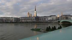 La Seine - Rouen - Févier 2018 (jeanlouisallix) Tags: rouen seine maritime haute normandie france fleuve cours deau rivière soleil reflets paysage paysages landscape panorama