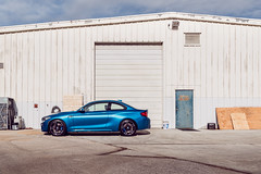 Long Beach Blue M2 (lucasjohnsonphotography) Tags: garage bmw bmwusa bmwm bmwm2 m2 bimmer automotive carphotographer sportscar stl stlouis stlphotographer longbeachblue blue