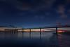 El final del dia... (protsalke) Tags: crepusculo blue azul seascape mazagon sunset color colores nikon light beautiful twilight andalucia dock muelle