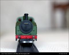 Lima Trains 5101M 0-6-0T Class J50 Tank Engine LNER IMG_2798 (Trevor Durritt) Tags: lner diecast ooscale classj50 060t steamlocomotive ©trevordurritt ©thegeniescave wwwthegeniescavecouk 176 modelrailway canoneos600d m42 manualfocus availablelight carlzeissjena50mmf28zebra triangsuper4track bokeh