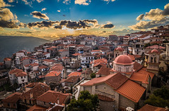 View from the clock (Vagelis Pikoulas) Tags: arachova clock village villagescape city cityscape urban roof roofs rooftops lightroom greece landscape tokina 2470mm view canon 6d winter december 2017
