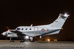 French Xingu at RAF Northolt Nighshoot october 2017 (JC96 Photography) Tags: french air force frenchnavy armeedelair xingu strobe lights propellers tripod nightshift raf northolt aircraft aviation canonic canon7dmark2