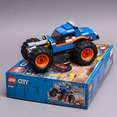 60180 different monster truck (KEEP_ON_BRICKING) Tags: lego city set 60180 moc custom build monster truck awesome free building instructions tutorial keeponbricking