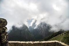 Machu Picchu (elparison) Tags: perù machupicchu nebbia fog mountain wild ancient archeological cusco