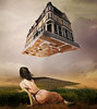 Digress (jaci XIII) Tags: casa mulher pessoa pintura surrealismo house woman person painting surrealism