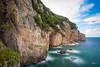 Cliffs (PiTiS ¬~) Tags: cliffs acantilados mar costa coast sea longexpo longexposure largaexposicion cielo sky nikon cantabria seascape landscape paisaje rocks rocas
