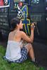 2017 Lake Harriet Art Car Parade - drawing on the Chalkboard Race Truck (schwerdf) Tags: artcarparade lyndalepark minneapolis minnesota