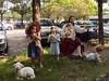 Esther et Jésus (Bruno-Edouard Perrin) Tags: chapeau esther laideur mouton religion sculpture voitures