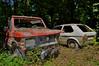 la palude (riccardo nassisi) Tags: abbandonata auto car wreck wrecked rust rusty rottame relitto ruggine ruins scrap scrapyard epave lost parma