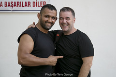 ED2F5A6260 (TerryGeorge.) Tags: turkishoilwrestling gym abs muscles beard handsome fitness oilwrestling istanbul turkish turkey europe ripped realman wrestling workout oil