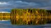 Syksy, Autumn (pohjoma) Tags: iltaaurinko maisema ruska syksy autumn fall finland sunshine reflexion canoneos5dmarkiv canonef24105mmf4lisusm landscape scenery clouds reflection wald forst see himmel herbst