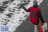 A view from the room (Erwin van Maanen.) Tags: streetphotography straatfotografie urban storytelling netherlands nederland street straat calle paisesbajos aviewfromtheroom documentaire verhalendefotografie narrativephotography socialdocumentary erwinvanmaanen kroonenvanmaanenfotografie nikond7000 winter ijs ice sneeuw snow