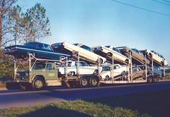 Dodge D800; Convoy #278 (PAcarhauler) Tags: dodge mopar carcarrier truck trailer semi plymouth