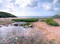 Photo of Manorbier beach