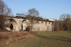 LNS 2843 @ Berneau (Peter Van Gestel) Tags: viaduc viaduct berneau lijn ligne 24