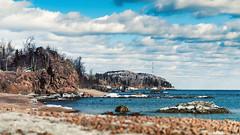 Lake Superior (Vasil1978) Tags: vasilphotographer ngc nature noperson landscape island lake superior d810 day duluth minnesota sky clouds composition