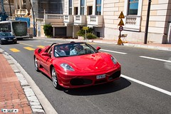 Ferrari F430 Spider Monaco 2017 (seifracing) Tags: ferrari f430 spider monaco 2017 seifracing spotting security europe rescue research transport traffic circulation cars car voiture vehicles red photography photographe seif