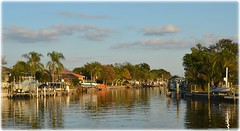 Watermark Townhome Community - St Petersburg, Florida (lagergrenjan) Tags: watermark townhouse communnity st petersburg florida canal harbor isle boats
