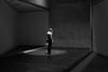 Jewish Museum - Berlin (elisachris) Tags: berlin jüdischesmuseum jewishmuseum dark schwarzweis blackandwhite licht schatten light shadow fujifilm fuji x20