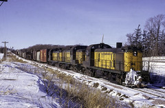 Alco Line (ac1756) Tags: cnw northwestern chicagonorthwestern alco rs3 1617 waseca minnesota