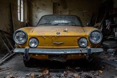 Coupé (maxmene70) Tags: decay urbex abandoned cars rusty light dark shadow sun room exploratio old urban street