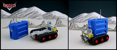 Butch Stardust (TFDesigns!) Tags: lego space rover face cars disney pixar movie satire moon