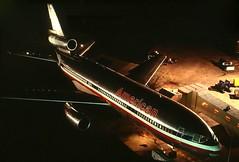 N111AA American DC-10-10 at CYYZ (GeorgeM757) Tags: n111aa dc1010 american cyyz toronto nightairplane aircraft alltypesoftransport aviation airport georgem757 widebody classic mcdonnelldouglas