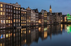 On a row (reinaroundtheglobe) Tags: amsterdam noordholland holland dutch dutchlandscape damrak water waterreflections canal amsterdamcanals canalhouses waterfront historicalbuilding historicalcity trav touristdestination postcardcollection