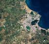 Tunis wetlands (europeanspaceagency) Tags: earthobservation earthfromspace worldwetlandsday tunis tunisia wetlands carthage copernicus sentinel2a satelliteimage