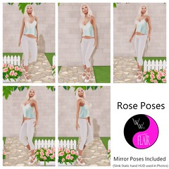 Winx & Flair - Rose Poses (SasyScarborough) Tags: secondlife forrose winxflair event fundraiser roses poses background backdrop prop