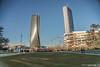 Milano - City Life (DavidGutta) Tags: milano milan city tre torri life libeskind zaha hadid palazzo palazzi grattacielo grattacieli torre architettura