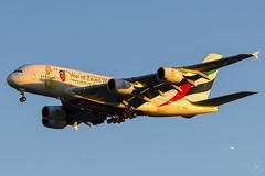 A6-EEU A380 EMIRATES YBBN (Sierra Delta Aviation) Tags: emirates airbus airbusa380 a380 brisbane airport zayed ybbn a6eeu