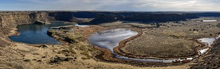 Dry Falls Long Panorama
