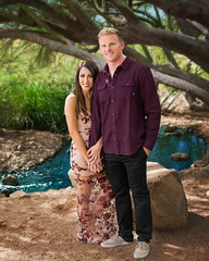 2715 Val and Cody (greyhound rick) Tags: portrait engagement couple outside gilbert gilbertarizona riparian gilbertriparian strobist nikon nikkor pocketwizard sb800 river creek people photoshop lightroom niksoftware