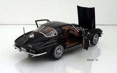 1963 Chevrolet Corvette Sting Ray Sport Coupe (JCarnutz) Tags: 124scale diecast danburymint 1963 chevrolet corvette stingray