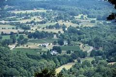 Down in the Valley (craigsanders429) Tags: virginia shenandoahvalley blueridgemountains overlook mountains houses fields
