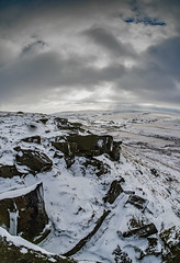 Marsden moor [Explored 13 February 2018 @ 389] (c.richard) Tags: marsdenmoor moorland snow westyorkshire kirklees winter