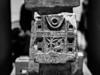 Burner detail (tokyobogue) Tags: japan tokyo ueno nikon nikond7100 d7100 museum tokyonationalmuseum roadsofarabiaexhibition sigma sigma1750mmexdcoshsm blackandwhite blackwhite monochrome decoration carving incense burner