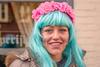 Dutch Carnival 2018 (RuudMorijn-NL) Tags: made noordbrabant bloemenkrans bloemenkransje buiten carnaval carnavalsfeest carnavalsviering evenement feest feestelijk gemeentedrimmelen geschminkt glimlachend groen haar kleurig kleurrijk lachend lang makeup ontspannen ontspanning oogcontact openlucht plezier portret pose pret pruik recreatie roze schmink straat straatportret turquoise verkleed marktstraat jong vrouw young pretty colorful smiling eyecontact portrait street carnival dutch netherlands flowerwreath pink