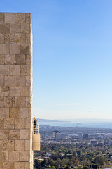 Getty Center and Palos Verdes (Robert Borden) Tags: building architecture coast pacific ocean palosverdes losangeles la socal california westcoast thegetty gettycenter museum canon 50mm canonrebel canonphotography canonusa woman