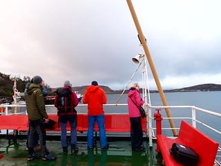 Aboard Caledonian MacBrayne