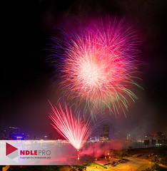 Fireworks show in Saigon, Lunar new year 2018 (Andy Le | +84908231181) Tags: saigon firework tet new year 2018 lunar night skylight district 2 vietnam vietnamese traditional holiday festival