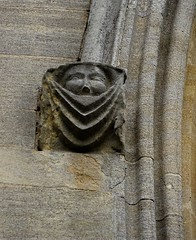 Medieval mortality (Dun.can) Tags: stmarys church meltonmowbray leicestershire medieval 14thcentury melton corbel death gargoyle