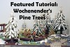 Pine Trees Featured Tutorial! (soccersnyderi) Tags: lego moc creation tutorial technique design walkthrough