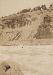 The Rapids at Niagara North America 1930's (Bury Gardener) Tags: 1930s oldies old snaps scans usa canada bridge