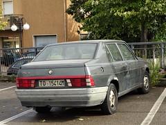 1989 Alfa Romeo 75 1.6 (Alessio3373) Tags: cars oldcars autoshite youngtimers transaxle alfaromeo alfa75 alfaromeo75 alfa7516 alfaromeo7516