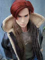 Romain (Deejay Bafaroy) Tags: fashion royalty fr integrity toys doll puppe male homme romain perrin silentpartner portrait porträt outdoors draussen redhead