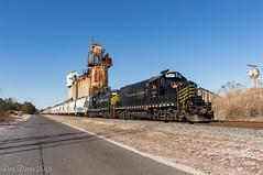 W&W CM-31 @ Dividing Creek, NJ (Dan A. Davis) Tags: ww winchesterandwestern gp9 freighttrain railroad locomotive train dividingcreek nj newjersey cm31