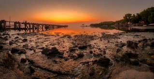 Sunrise in penang