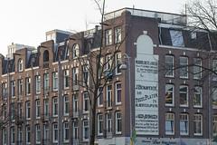 Muurvlakte te huur (Tim Boric) Tags: amsterdam muurreclame wall advertising ad hobbemakade cornelisanthoniszstraat huizen duivelseiland